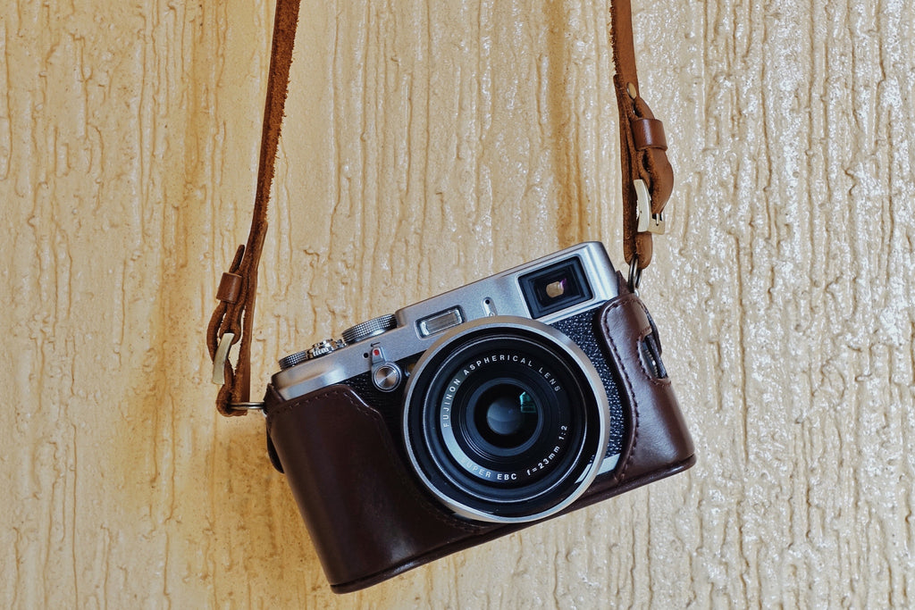 Leon camera strap is perfect for Fujifilm X100s and X100T cameras