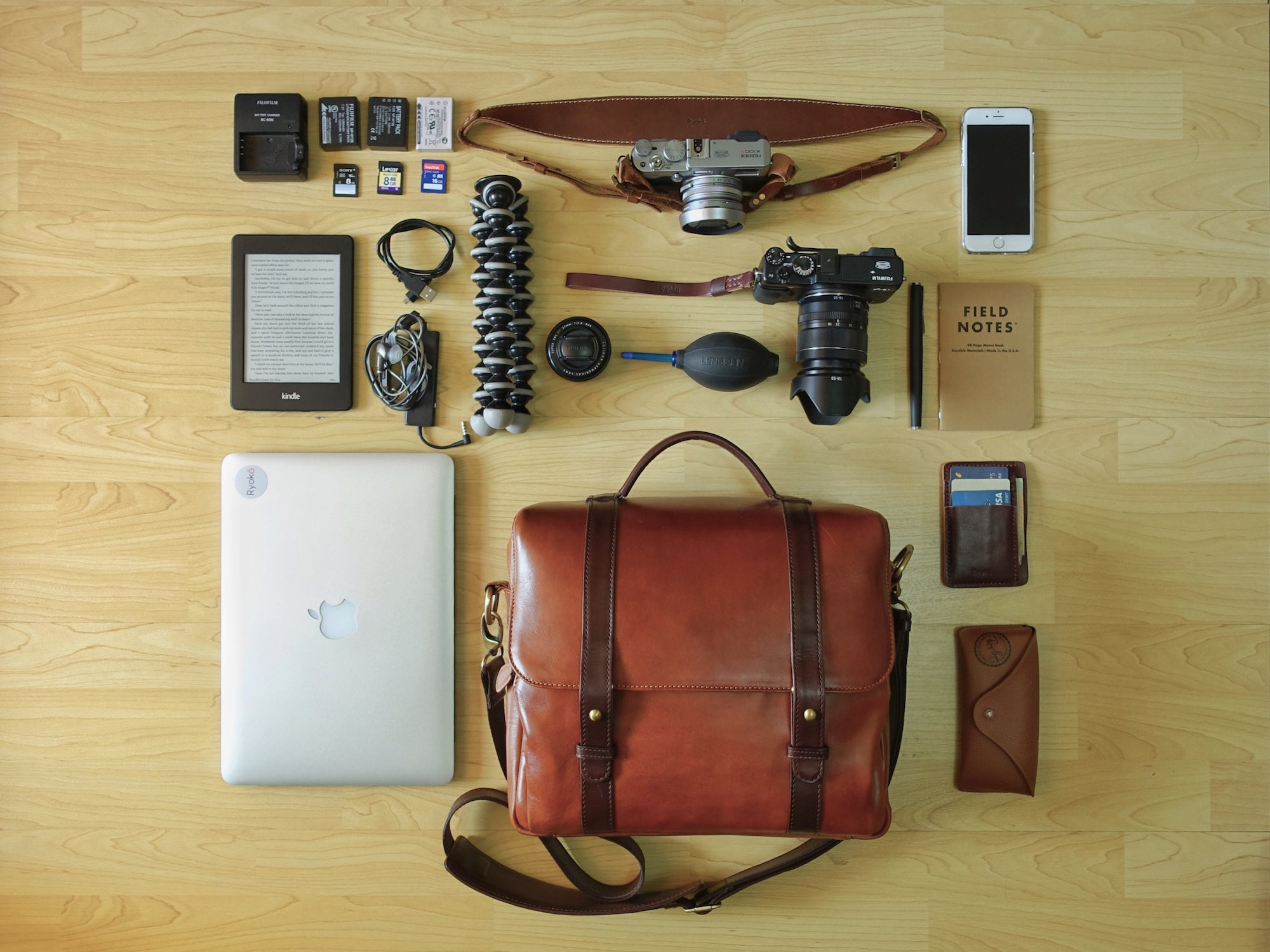 Cleveland Travel and Camera Bag from Ryoko