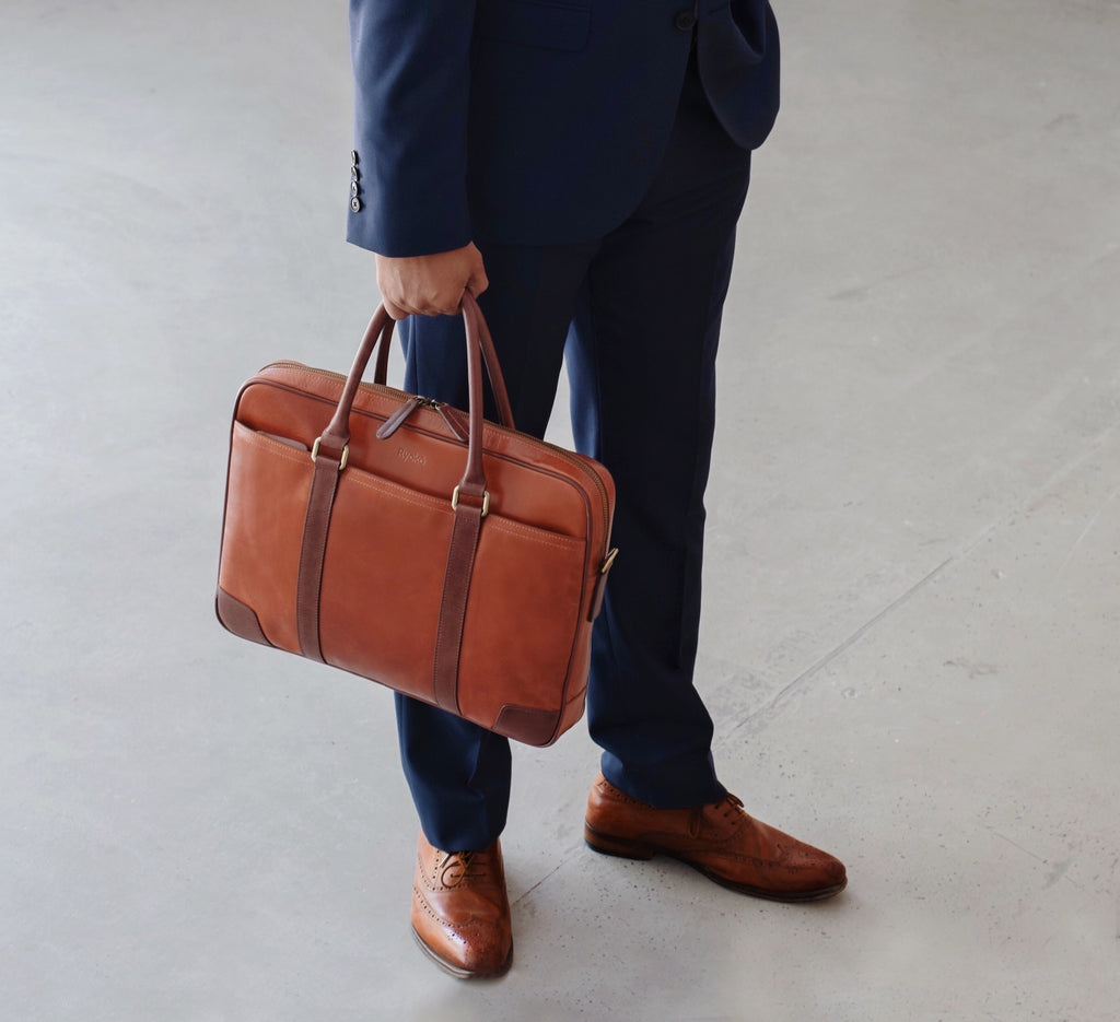 Wellington Briefcase by Ryoko