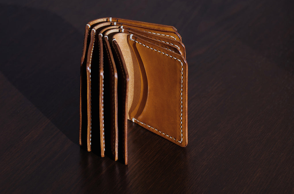 Derby Hand Stitched Wallet from Ryoko