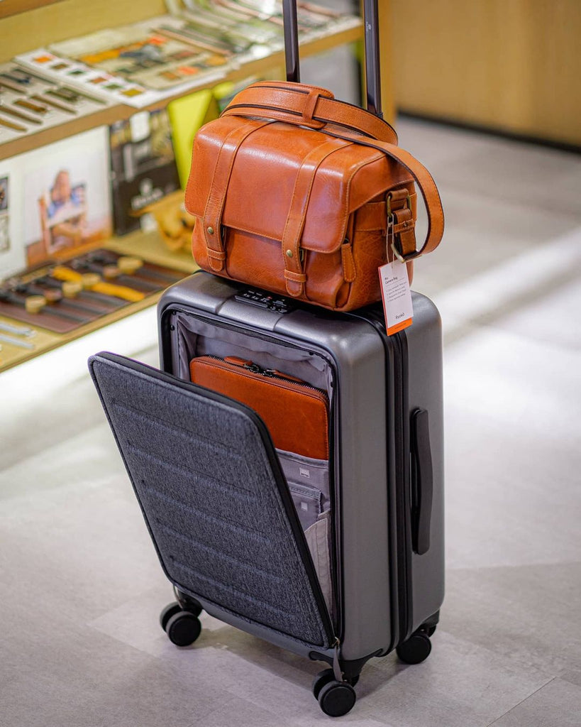 Luggage at Ryoko Bags. Leather Goods