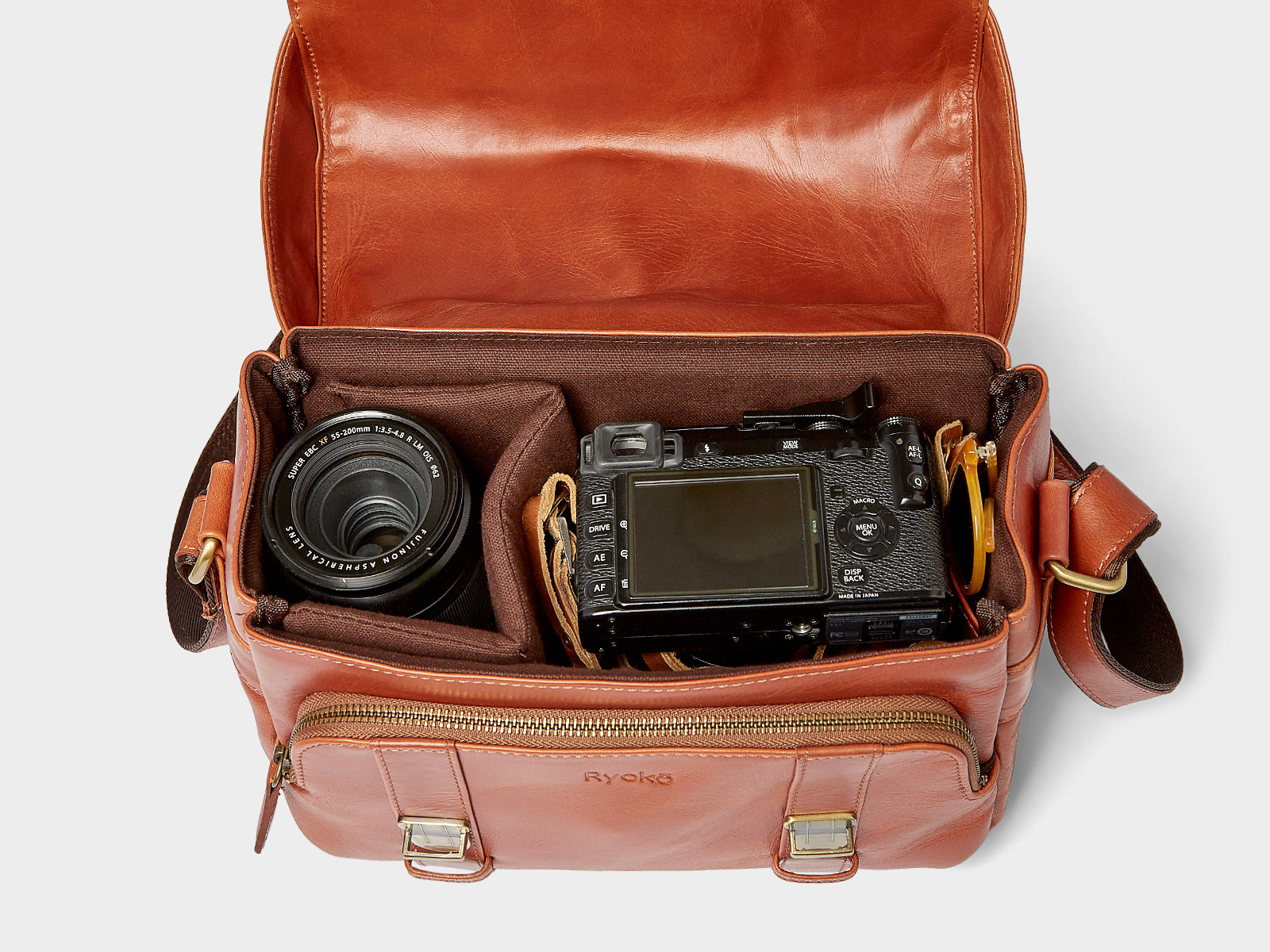d23fdd310762 Hand Stitched, · RiO Camera Bag, Travel/Camera Bags by Ryoko Bags Dubai.
