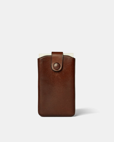 MT Signature Card Case, Wallets by Ryoko Bags Dubai. Hand Stitched, using vegetable tanned Japanese leather