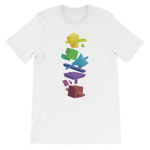Rainbow Blocks Unisex T-Shirt