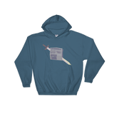 Newspaper Hooded Sweatshirt