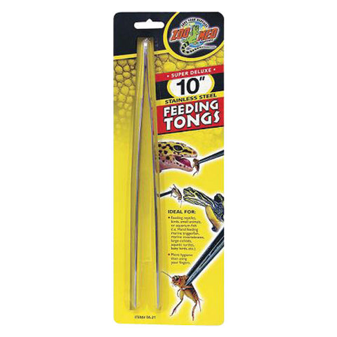 "10"" Feeding Tongs"