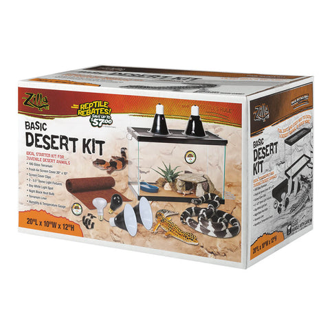 Basic Desert Reptile Kit 10 Gallon