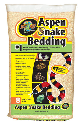 Aspen Snake Bedding 8 Quart