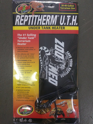 Reptitherm Under Tank Heater 30 to 40 Gallon Terrarium Size