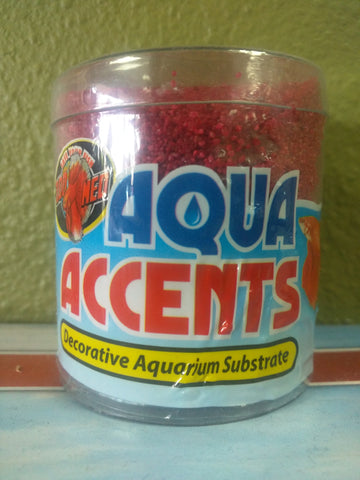 Aqua Accents Aquarium Substrate Red