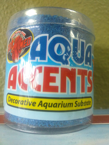 Aqua Accents Aquarium Substrate Blue