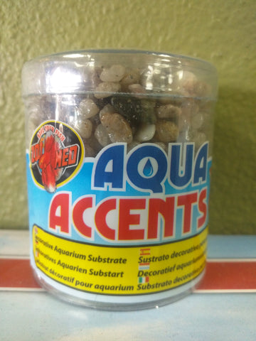 Aqua Accents Aquarium Substrate River Pebbles