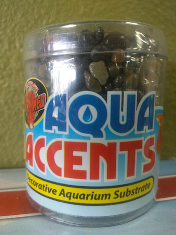 Aqua Accents Aquarium Substrate Dark River Pellets