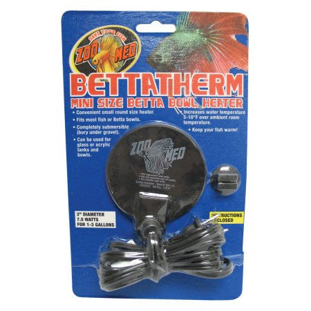 Bettatherm Mini Size Betta Bowl Heater