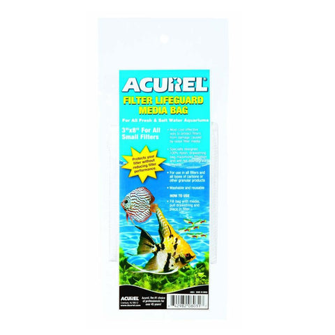 "Acurel Filter Media Bag 4"" by 12"""