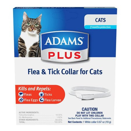 Adams Cat Flea And Tick Collar