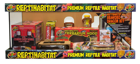 Zoo Med Bearded Dragon Kit 20 gallon long