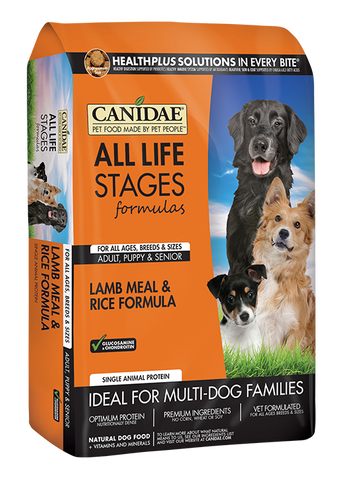 Canidae Dog Lamb and Rice 30lbs