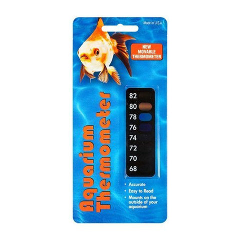 Aquarium Thermometer Sticker