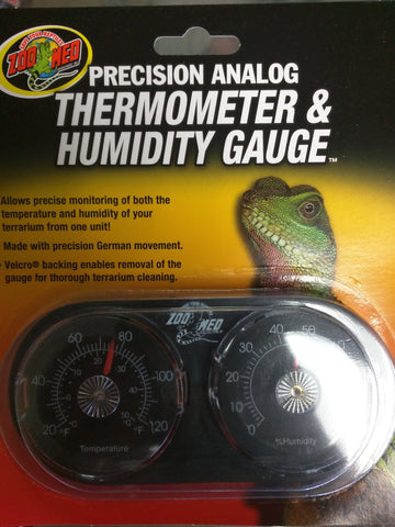 Analog Thermometer and Humidity Gauge