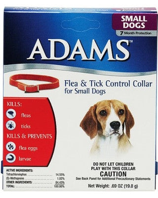Adams Small Dog Flea And Tick Collar