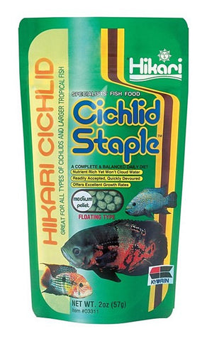 Cichlid staple floating 2oz.