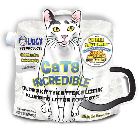Cats Incredible UNSCENTED SuperKittyKattakalizmik Klumping Litter 14lb