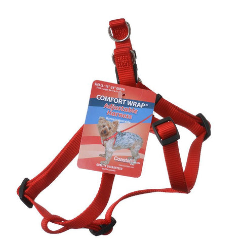 Adjustable Harness Small Red