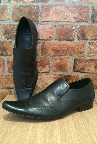 Black Brogue Loafers