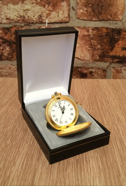 Gold pocket fob watch