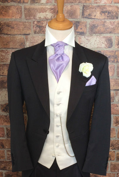 Charcoal Tails Morning Suit