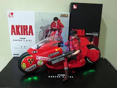 Bandai Medicom Akira movie Kaneda and Bike 1:6 new boxed set