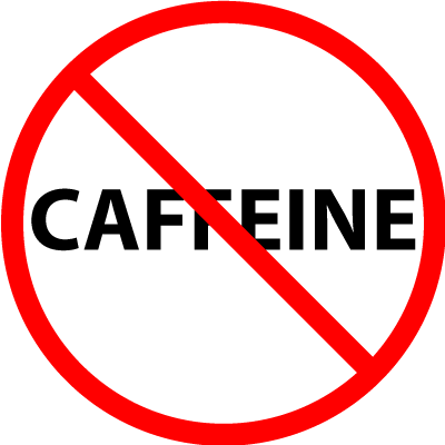 Image result for FREE IMAGE of no caffeine
