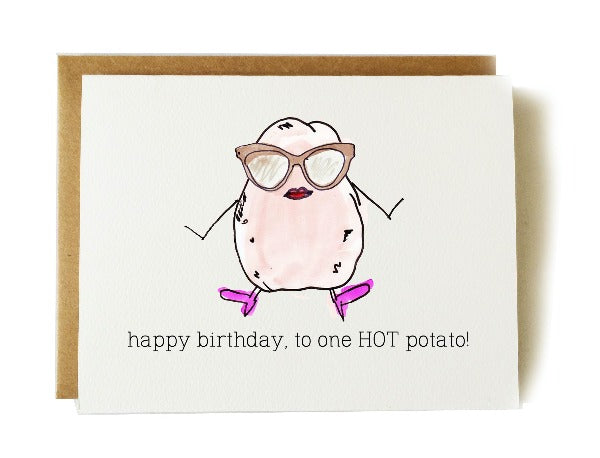 Happy Birthday Hot Potato