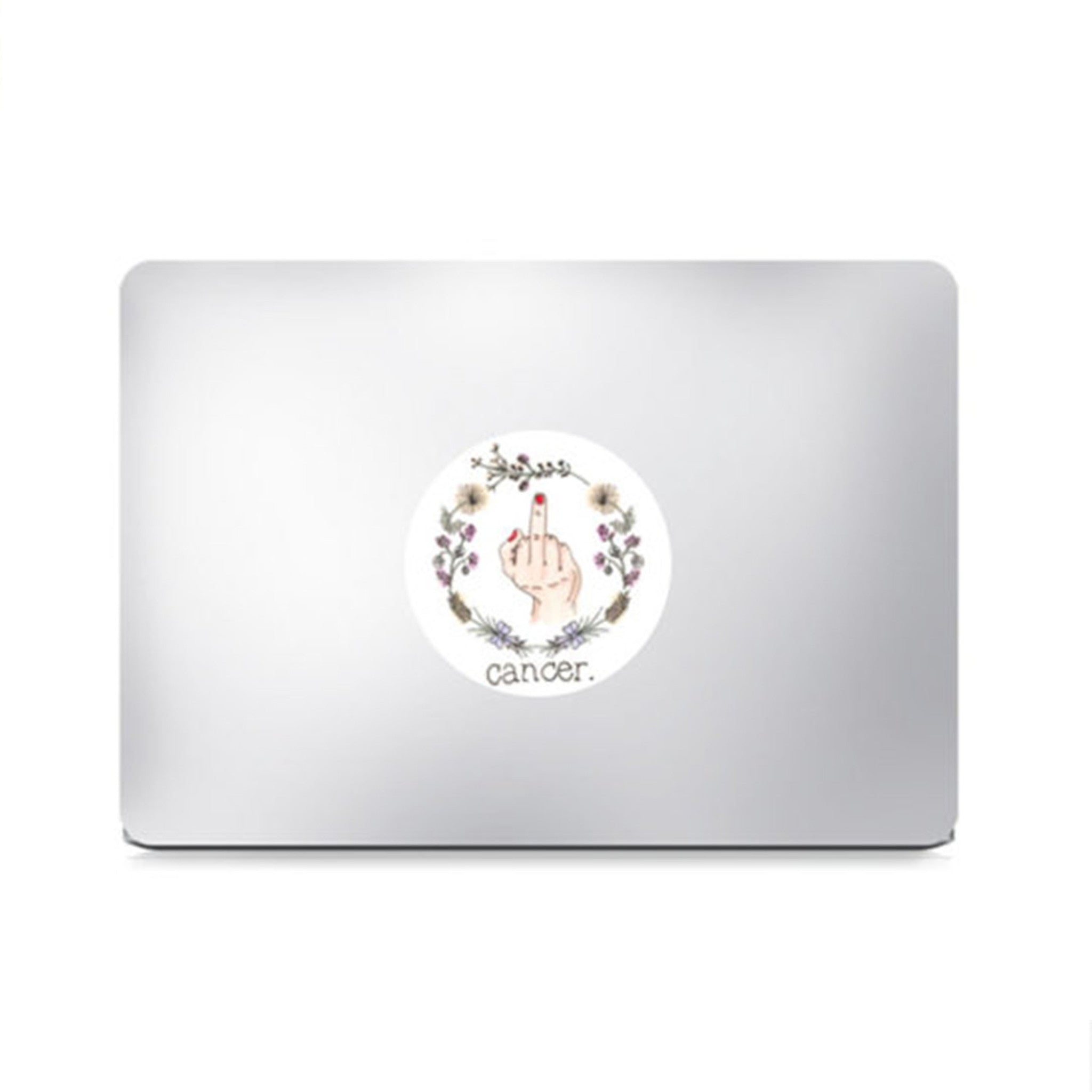 F Cancer Survivor Laptop or Sticker Decal