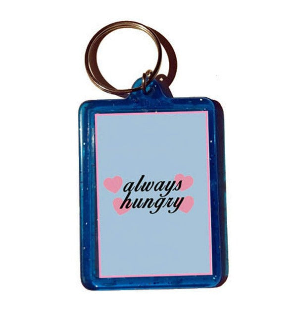 always hungry keychain