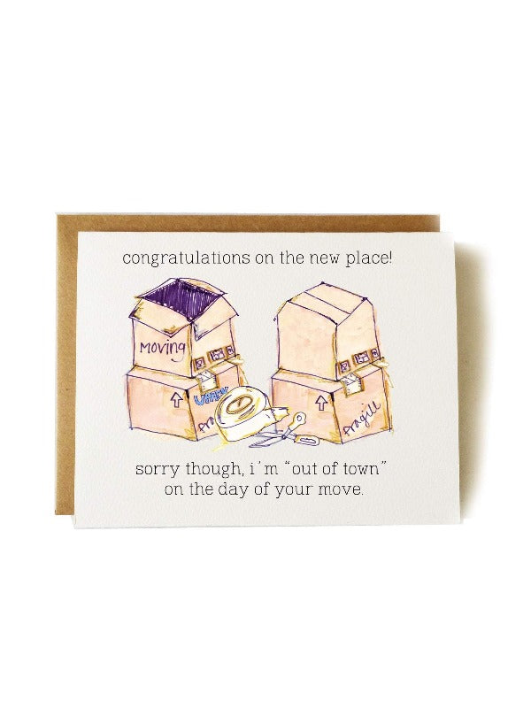 New Home and Housewarming Card