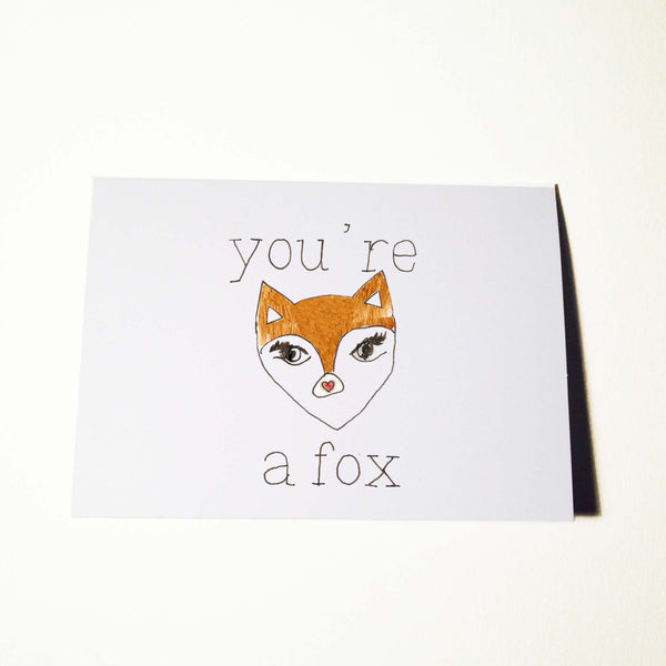 Youre A Fox Card