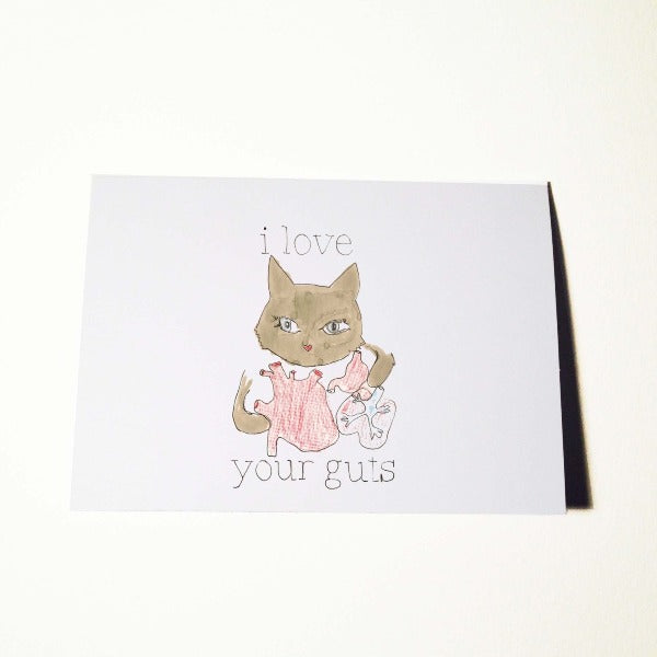 Love Your Guts Card