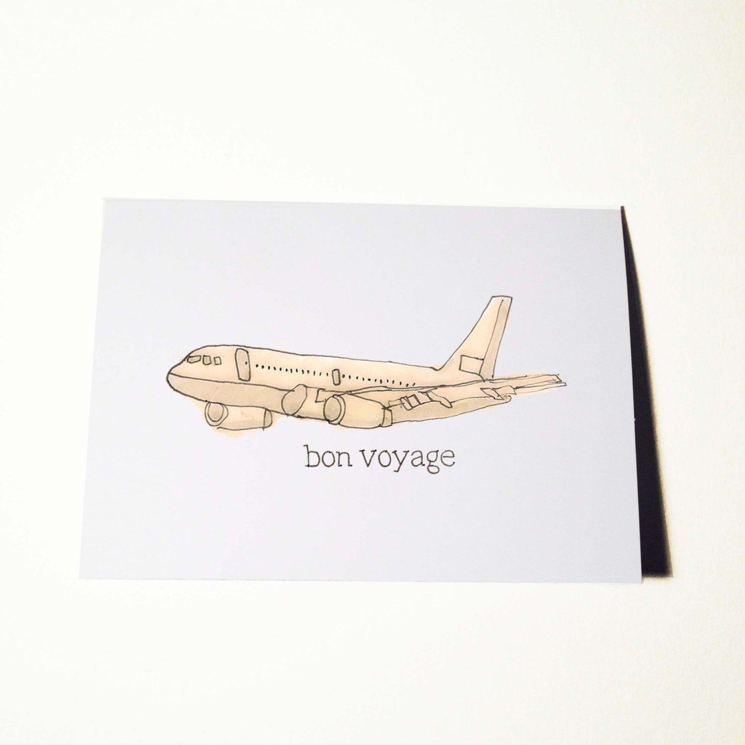 Farewell Bon Voyage Card ratbone skinny – Sick Birthday Cards