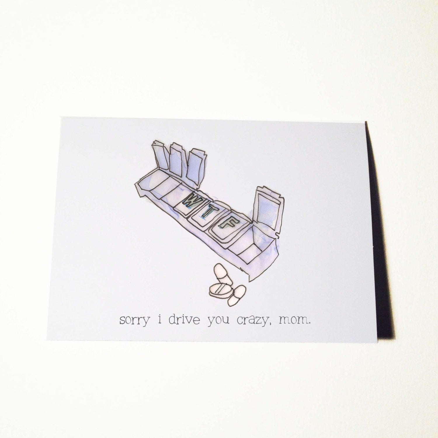Drive Mom Crazy Mothers Day Card