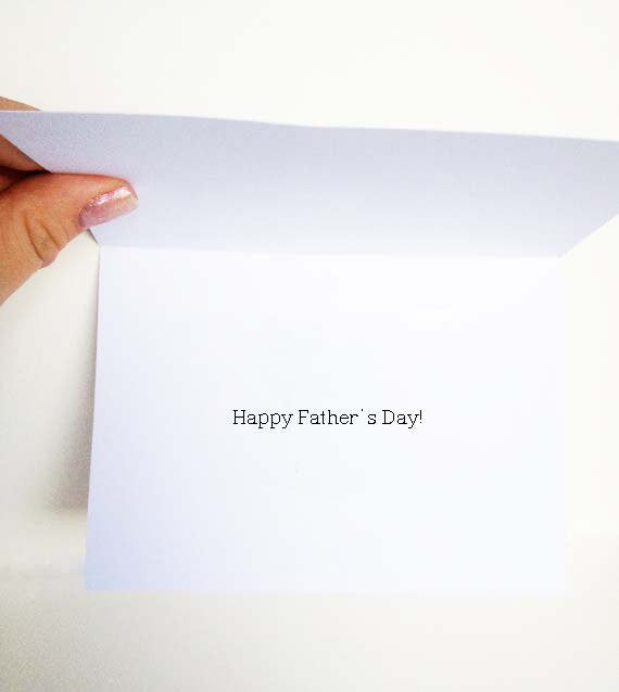 Drive Your Dad Crazy Fathers Day Card