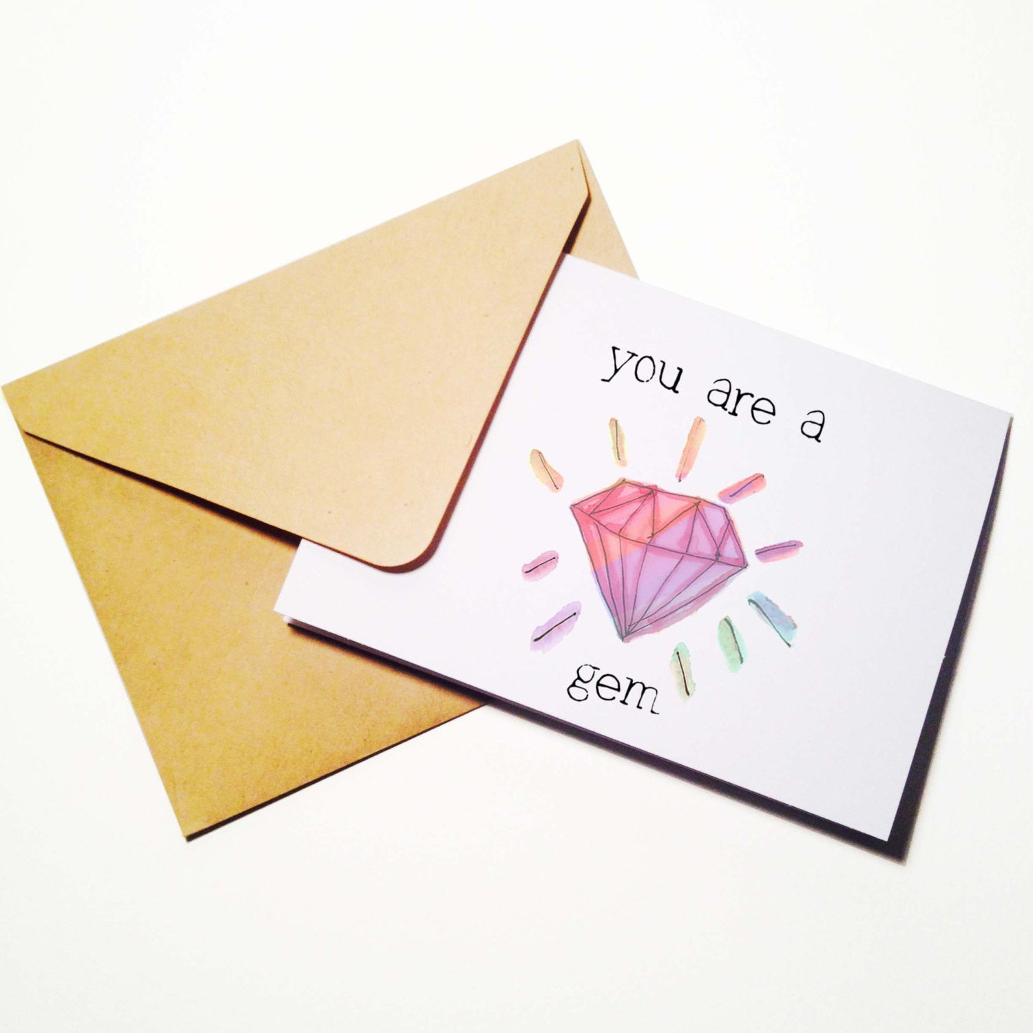Youre A Gem Birthday Card