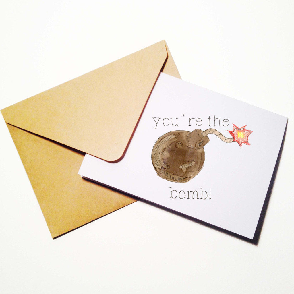 Youre the Bomb card