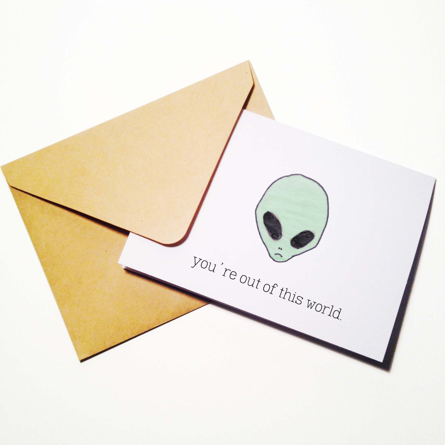 You're Outta this World Card