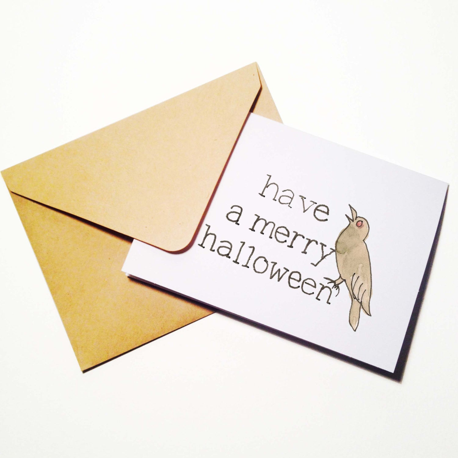 Merry Halloween Card