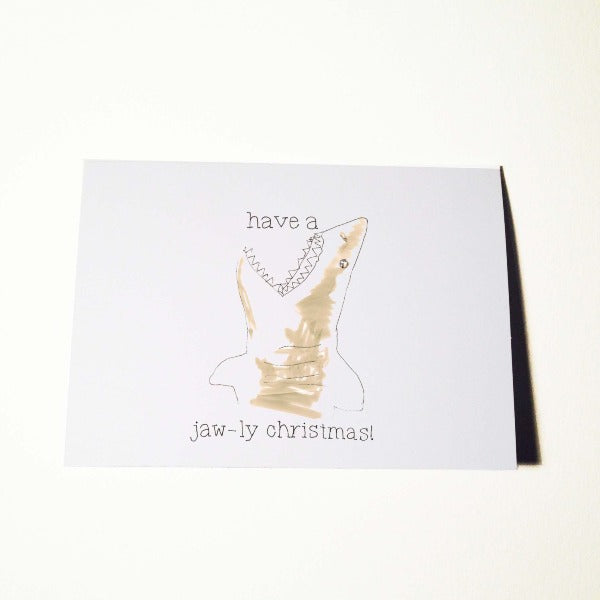 Jaw-ly Christmas Card