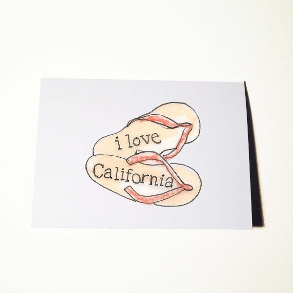 California Dreaming Card