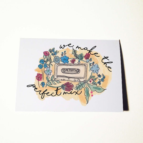 Perfect Mix Music Lovers Card