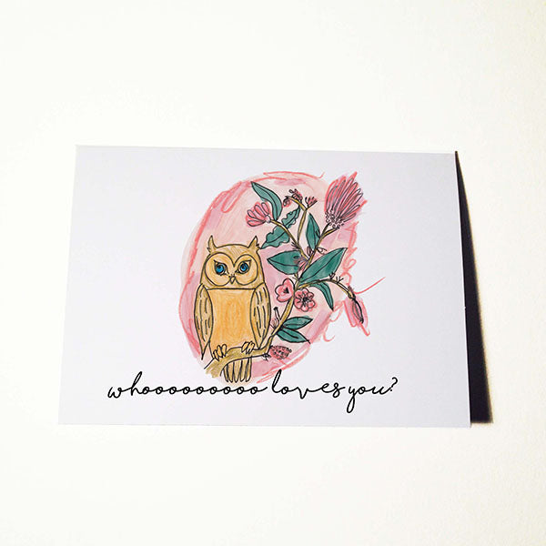 Who Loves You Valentines Day and Anniversary Card